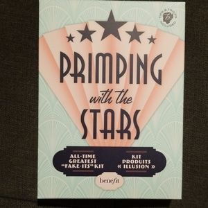 Benefit primping with the stars